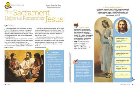 The Sacrament Helps Us Remember Jesus