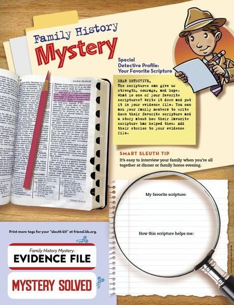 Family History Mystery - friend
