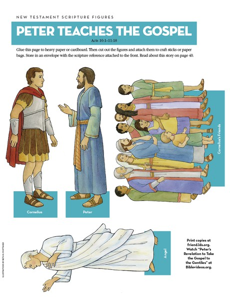 Scripture Figures: Peter Teaches the Gospel