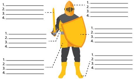diagram, armor of God