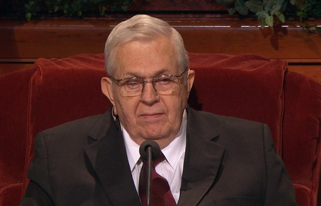 President  Packer  speaking