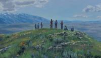 leaders on Ensign Peak