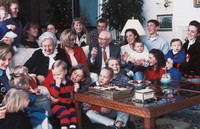 Hinckleys with grandchildren
