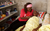 woman helping ill person