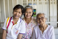 woman, mother, grandmother in Thailand