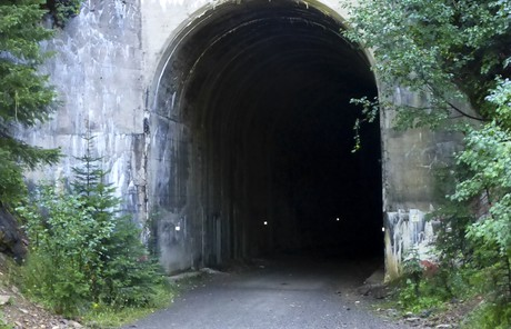 Outside of Taft Tunnel