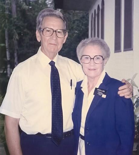Merlin and Helen Clark