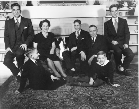 Kenneth and Mary Scott family
