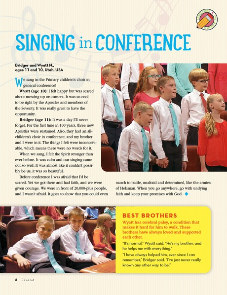 Singing in Conference