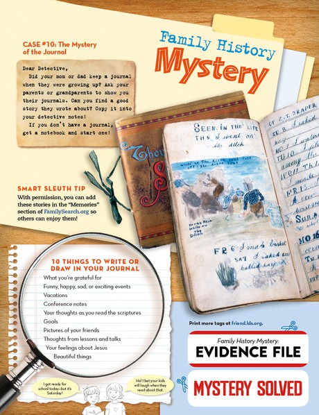 Family History Mystery: Journals
