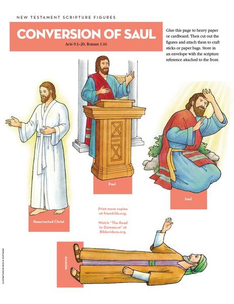 Scripture Figures: Conversion of Saul