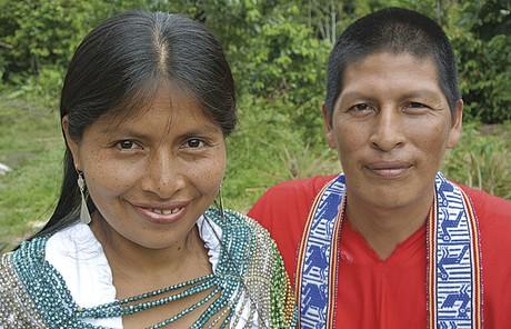 couple in Ecuador
