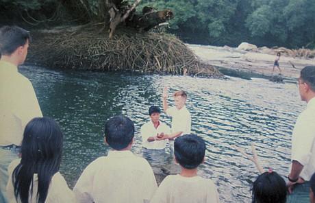 baptisms in river