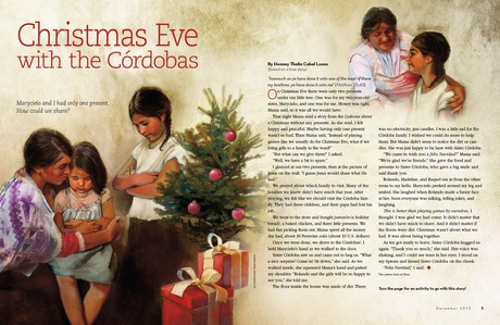 Christmas Eve with the Córdobas