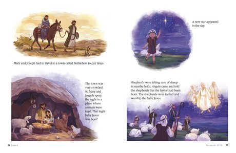 The Nativity Story, page 36–37