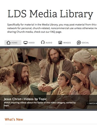Media Library on LDS.org