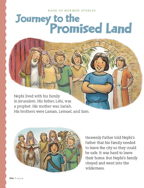 Journey to the Promised Land, 1