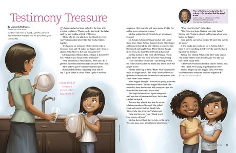 Testimony Treasure
