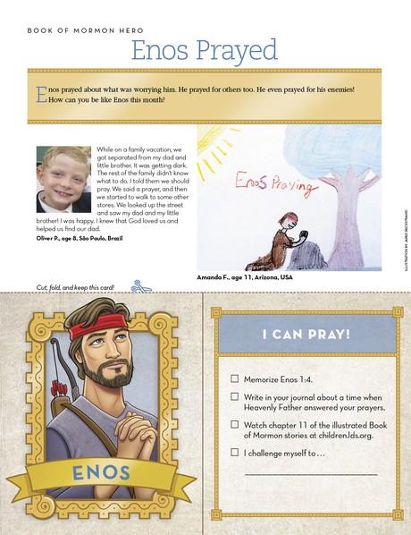 Enos Prayed