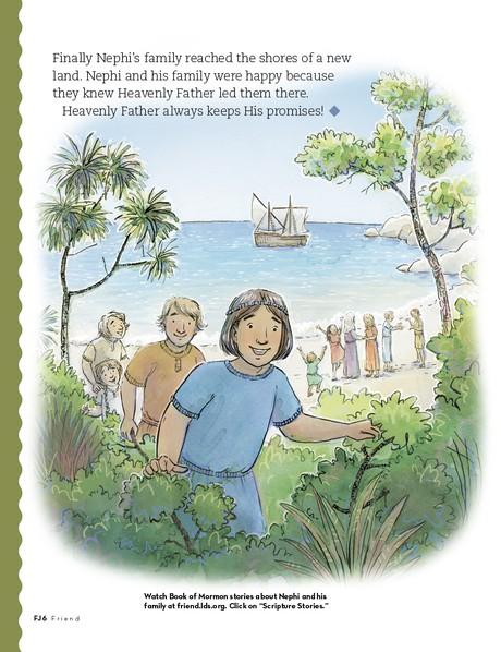Nephi's Family Crosses the Ocean, 3