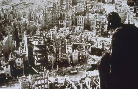 Dresden in ruins