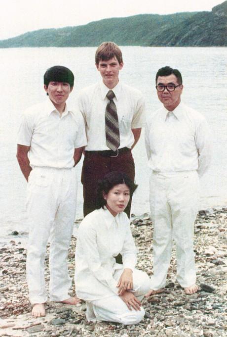Gary E. Stevenson as a missionary