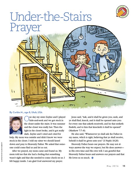 Under-the-Stairs Prayer