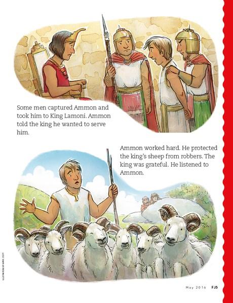 Ammon's Good Example, 2