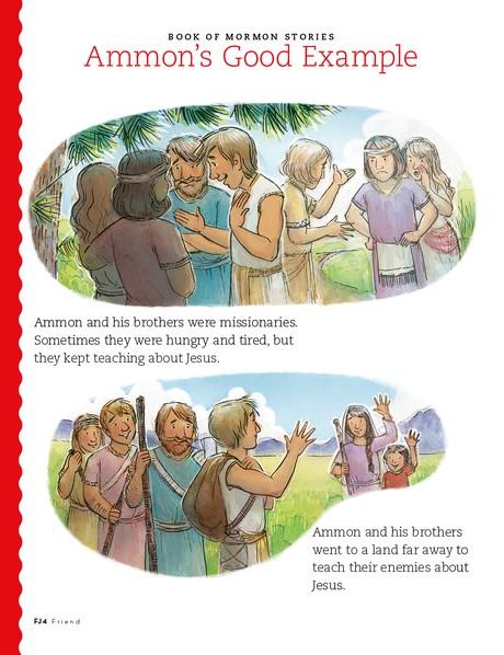 Ammon's Good Example, 1
