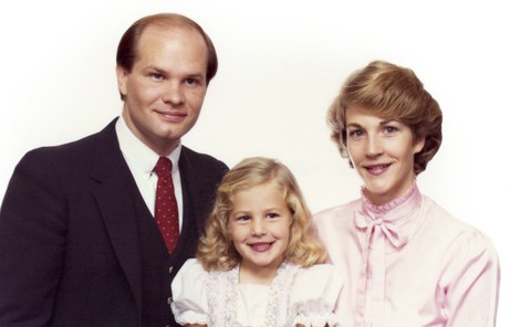 Dale G. Renlund with wife and daughter