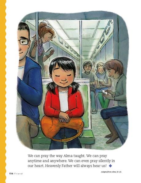 Alma Teaches How to Pray, 2