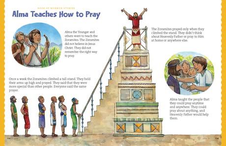 Alma Teaches How to Pray, 1