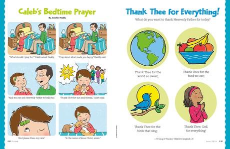 Caleb's Bedtime Prayer