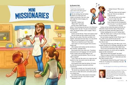 Mini Missionaries