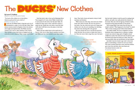 The Ducks' New Clothes