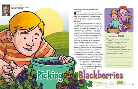 Picking Blackberries