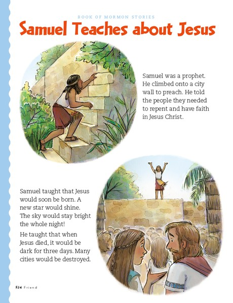 Samuel Teaches about Jesus, 1