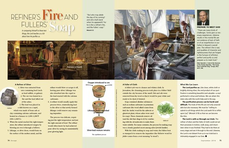 article on refiner's fire and fullers' soap
