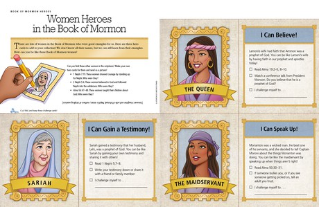 women heroes in the Book of Mormon