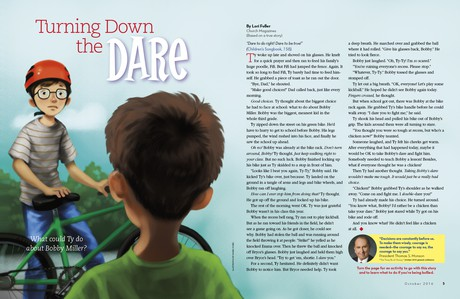 Turning Down the Dare
