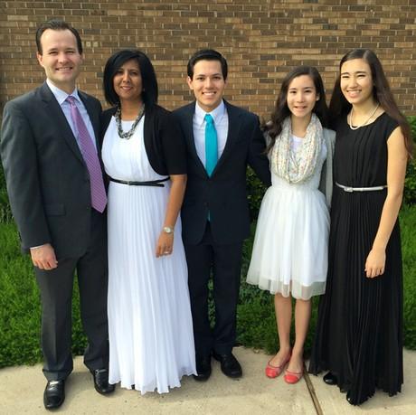 Kamla Persand and family