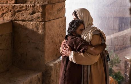 Savior comforting