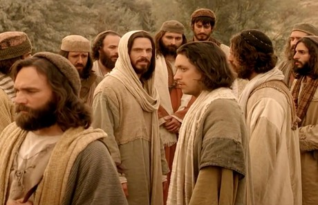 Savior with followers