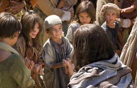 Savior with children