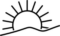 sunrise line drawing