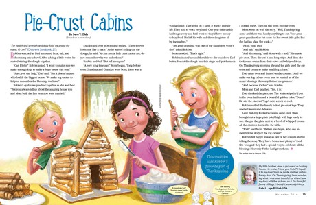Pie-Crust Cabins
