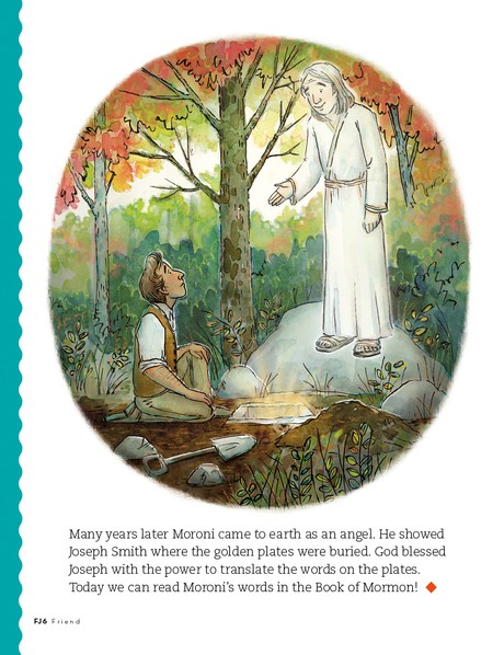 Moroni's Special Promise, 3