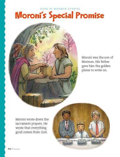 Moroni's Special Promise, 1