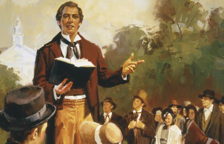 Joseph Smith Preaching