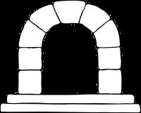 arch with keystone
